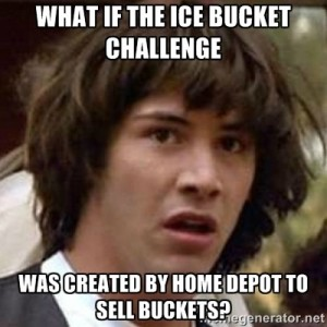 Conspiracy Keanu - Ice Bucket Challenge